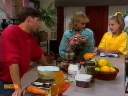 Mike Young, Jane Harris, Katie Landers in Neighbours Episode 0941