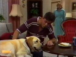 Bouncer, Joe Mangel, Jane Harris in Neighbours Episode 0941
