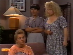 Bronwyn Davies, Hilary Robinson, Sharon Davies in Neighbours Episode 0943