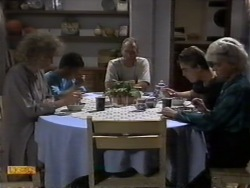 Beverly Robinson, Todd Landers, Jim Robinson, Nick Page, Helen Daniels in Neighbours Episode 0944