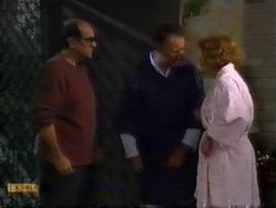 Theo Skouros, Harold Bishop, Madge Bishop in Neighbours Episode 0946