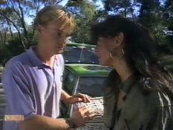 Scott Robinson, Poppy Skouros in Neighbours Episode 0946