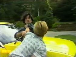 Stavros Papadopolous, Scott Robinson in Neighbours Episode 0946