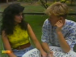 Poppy Skouros, Scott Robinson in Neighbours Episode 0947