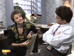 Gail Robinson, Paul Robinson in Neighbours Episode 0948
