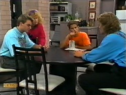 Nick Page, Sharon Davies, Todd Landers, Henry Ramsay in Neighbours Episode 0949