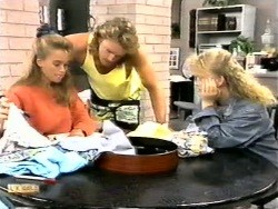 Bronwyn Davies, Henry Ramsay, Sharon Davies in Neighbours Episode 0949