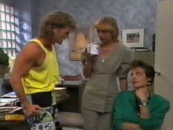 Henry Ramsay, Jane Harris, Gail Robinson in Neighbours Episode 0949