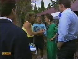 Henry Ramsay, Bronwyn Davies, Gail Robinson, Des Clarke in Neighbours Episode 0949