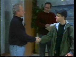 Jim Robinson, Philip Martin, Michael Martin in Neighbours Episode 1778