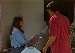 Beth Brennan, Cameron Hudson in Neighbours Episode 1827