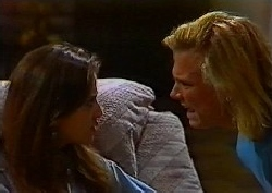 Beth Brennan, Brad Willis in Neighbours Episode 1827