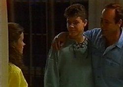 Julie Martin, Michael Martin, Philip Martin in Neighbours Episode 1827