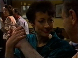 Mrs Russell, Sue-Ellen, Doug Willis in Neighbours Episode 1829