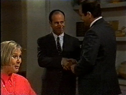 Cathy Alessi, Benito Alessi, Philip Martin in Neighbours Episode 1829