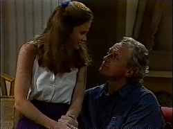 Julie Robinson, Jim Robinson in Neighbours Episode 1830