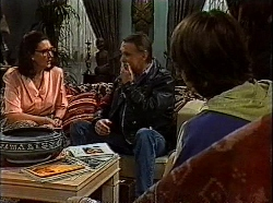 Dorothy Burke, Tom Merrick, Toby Mangel in Neighbours Episode 1830