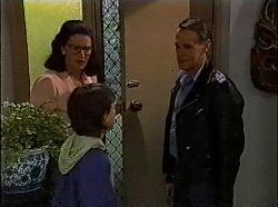 Dorothy Burke, Toby Mangel, Tom Merrick in Neighbours Episode 1830