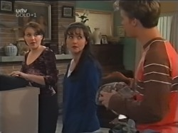 Libby Kennedy, Susan Kennedy, Billy Kennedy in Neighbours Episode 3146
