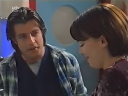 Drew Kirk, Libby Kennedy in Neighbours Episode 3146