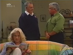 Madge Bishop, Harold Bishop, Lou Carpenter in Neighbours Episode 3147