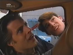 Drew Kirk, Paul McClain in Neighbours Episode 3148