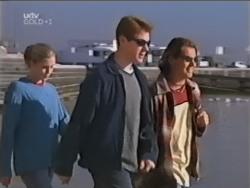Amy Greenwood, Lance Wilkinson, Joel Samuels in Neighbours Episode 3148