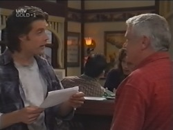 Drew Kirk, Lou Carpenter in Neighbours Episode 3148