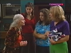 Lily Madigan, Anne Wilkinson, Hannah Martin, Ruth Wilkinson in Neighbours Episode 3149