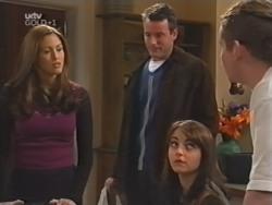 Sarah Beaumont, Alex Fenton, Karen Oldman, Toadie Rebecchi in Neighbours Episode 3149