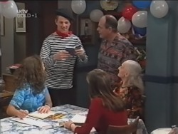 Hannah Martin, Lance Wilkinson, Anne Wilkinson, Philip Martin, Lily Madigan in Neighbours Episode 3149