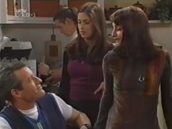 Alex Fenton, Toadie Rebecchi, Sarah Beaumont, Karen Oldman in Neighbours Episode 3150