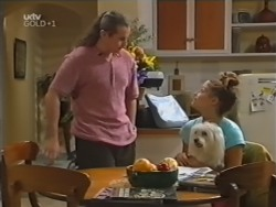 Toadie Rebecchi, Sarah Beaumont, Bob in Neighbours Episode 3152