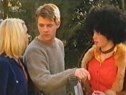 Amy Greenwood, Lance Wilkinson, Anne Wilkinson in Neighbours Episode 3153