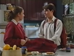Hannah Martin, Paul McClain in Neighbours Episode 3154