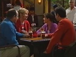 Philip Martin, Ruth Wilkinson, Susan Kennedy, Karl Kennedy, Lou Carpenter in Neighbours Episode 3154