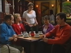 Philip Martin, Ruth Wilkinson, Libby Kennedy, Susan Kennedy, Karl Kennedy in Neighbours Episode 3154