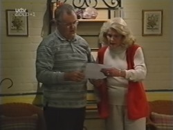 Harold Bishop, Madge Bishop in Neighbours Episode 3155