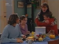 Joel Samuels, Libby Kennedy, Susan Kennedy, Billy Kennedy in Neighbours Episode 3156