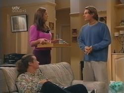 Toadie Rebecchi, Sarah Beaumont, Joel Samuels in Neighbours Episode 3156