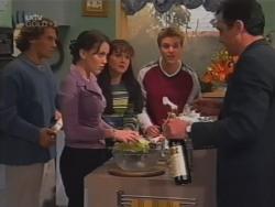 Joel Samuels, Libby Kennedy, Susan Kennedy, Billy Kennedy, Karl Kennedy in Neighbours Episode 3157