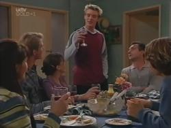 Susan Kennedy, Mike Healy, Libby Kennedy, Billy Kennedy, Karl Kennedy, Joel Samuels in Neighbours Episode 3157
