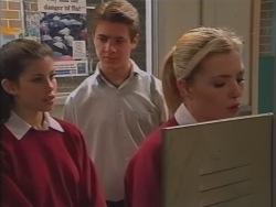 Anne Wilkinson, Lance Wilkinson, Amy Greenwood in Neighbours Episode 3158