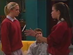Amy Greenwood, Lance Wilkinson, Anne Wilkinson in Neighbours Episode 3158