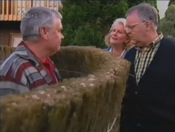Lou Carpenter, Madge Bishop, Harold Bishop in Neighbours Episode 3160