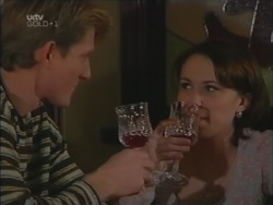 Mike Healy, Libby Kennedy in Neighbours Episode 3161