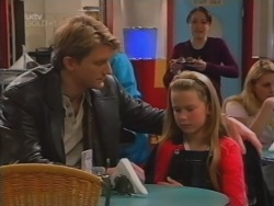 Mike Healy, Sasha Healy, Libby Kennedy in Neighbours Episode 3161