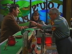 Karl Kennedy, Susan Kennedy, Lou Carpenter in Neighbours Episode 3162