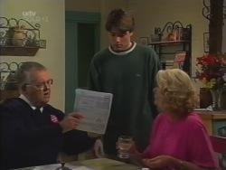 Harold Bishop, Paul McClain, Madge Bishop in Neighbours Episode 3163