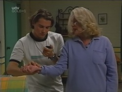 Joel Samuels, Madge Bishop in Neighbours Episode 3165